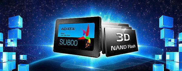 Твердотельный диск SSD 1 ТБ A-Data Ultimate SU800