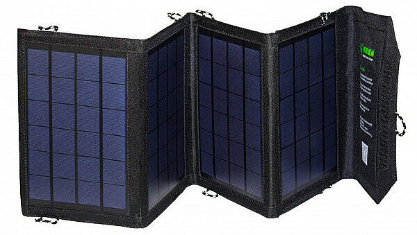 Зарядное устройство 14 Вт 2xUSB на солнечных батареях