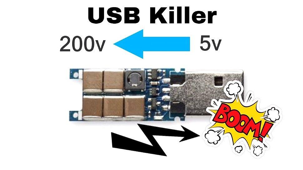 Флешка USB Killer