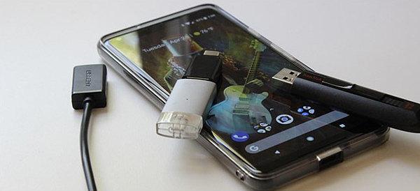 Подключаем USB флешку к Android